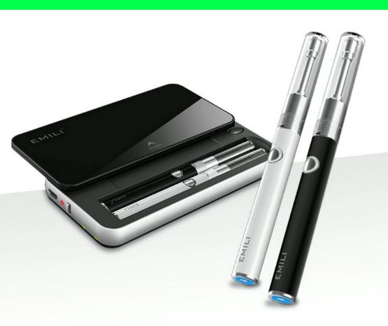 楽天ランキングで常にランキング上位のEMILI(エミリ)という電子タバコ。